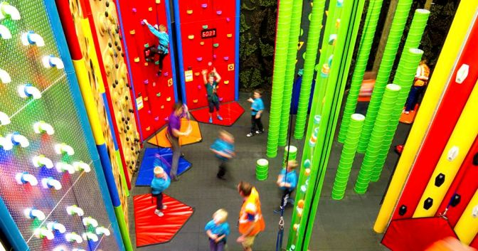 Climbing the Walls at Clip'n'Climb
